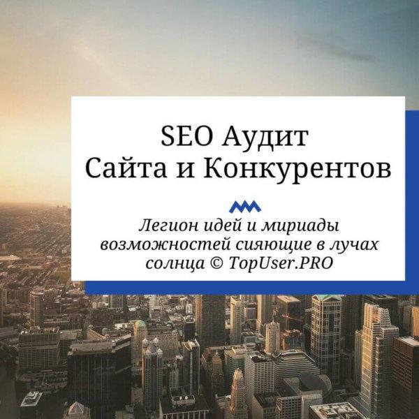 Комплексный SEO Аудит Сайта и Конкурентов