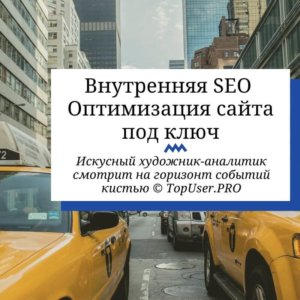 Внутренняя SEO оптимизация сайта под ключ
