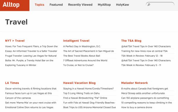 Alltop блоги