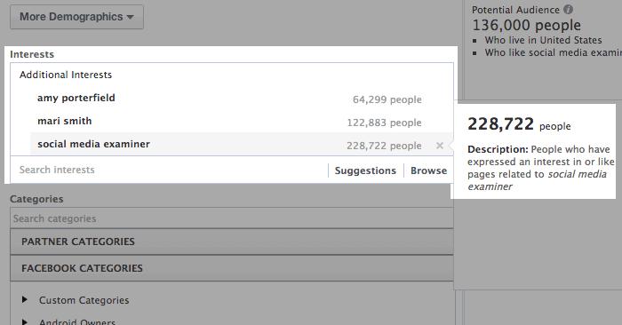 Facebook таргетинг