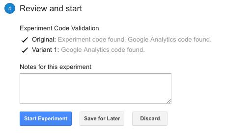 завершение аб тест гугл аналитикс