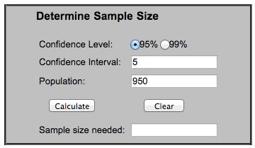 а б тест калькулятор пример настроек проверки