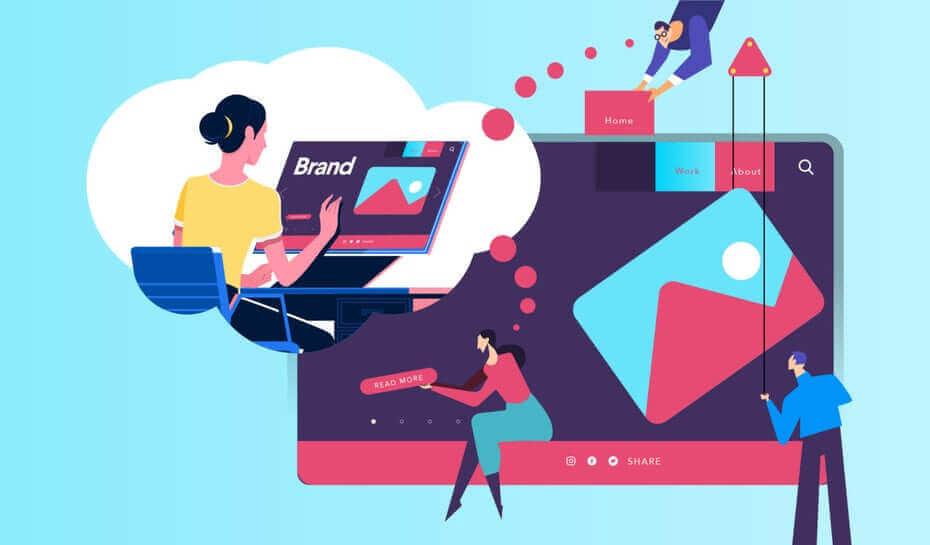 подготовка дизайна и пользователь