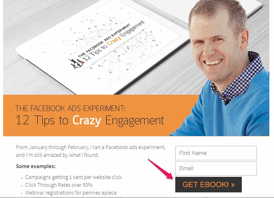 призыв к действию получите электронную книгу