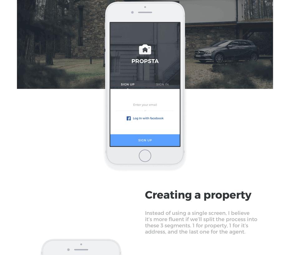 простой дизайн сайта пример