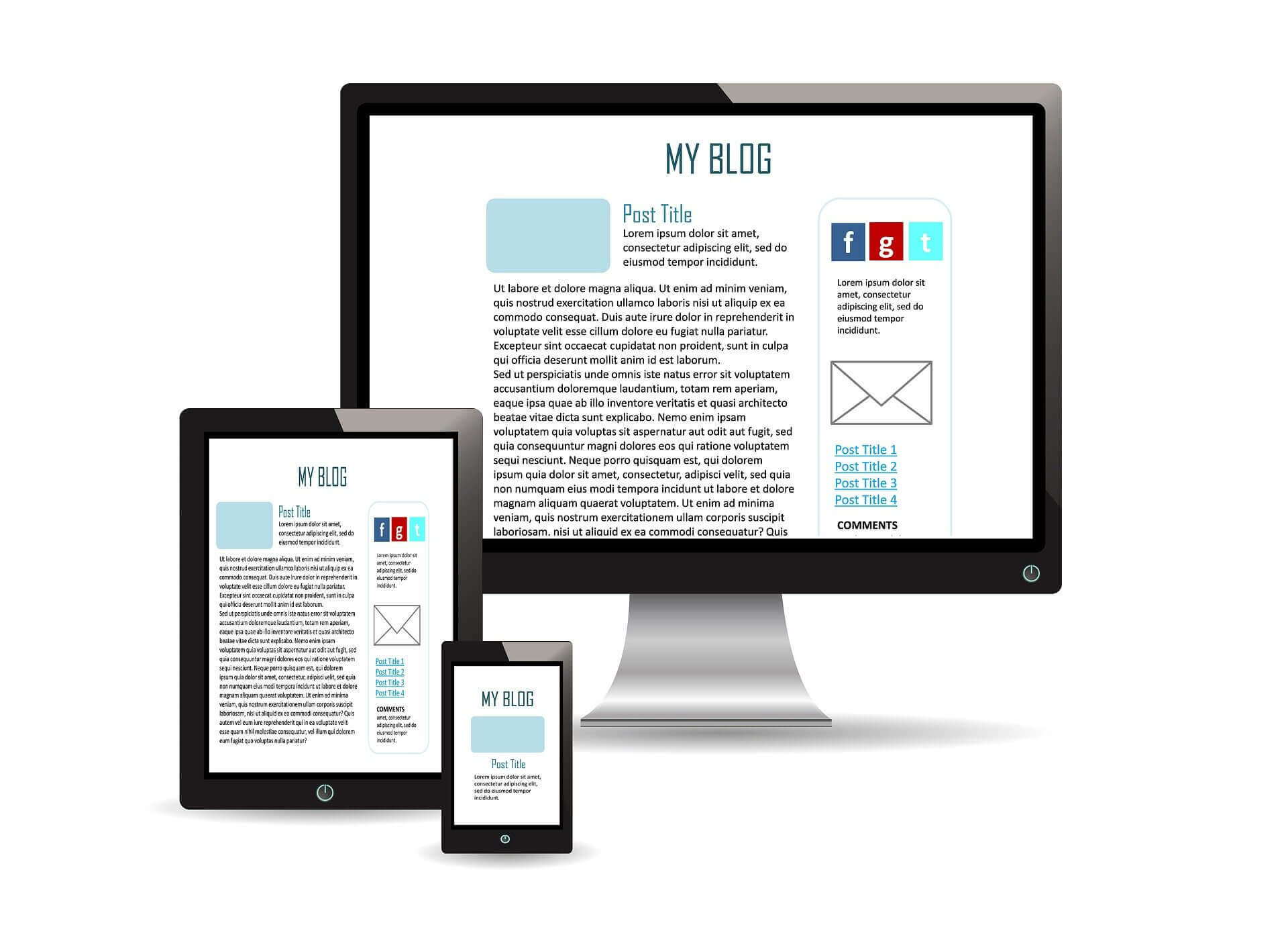 Создание адаптивного дизайна сайта